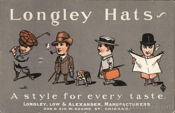 Longley Hats, Longley, Low & Alexander Advertising