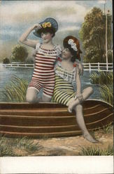 Two Girls in Bathing Costumes