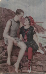 Romantic Couple near the Water