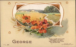 Name Poem: George