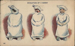 Evolution of a Baker