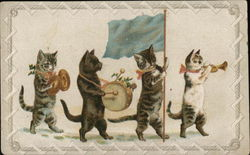 Cats Playing Instruments