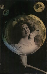 Young Victorian Girl in a Bubble