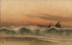 Boats Sailing in the Surf