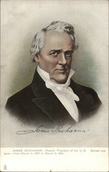 President James Buchanan, fifteenth President of the U.S. Served one term - from March 4, 1857 to M