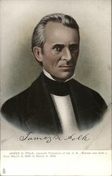 James K. Polk, eleventh President of the U.S. Served one term - from March 4, 1845 to March 3, 1849.
