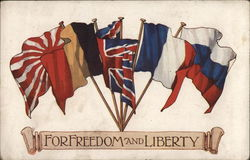 For Freedom and Liberty Postcard