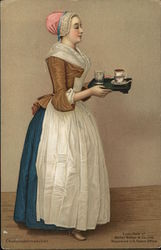 Woman Serving Tea