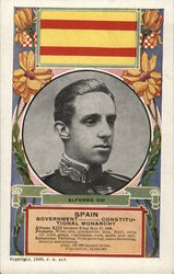 Alfonso XIII, Monarch of Spain
