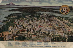 Birds Eye View of the Alaska-Yukon-Pacific Exposition