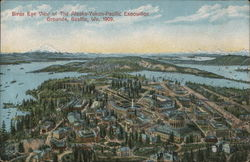 Bird's Eye View of The Alaska Yukon Pacific Exposition Grounds, Seattle