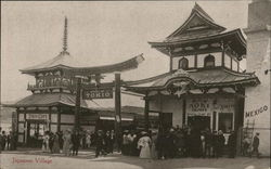 Japanese Village - The Alaska-Yukon-Pacific Exposition - 1909