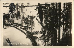1804 Wintersport, Ski-Sprung