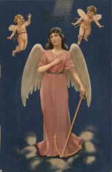 Angel With Cupids