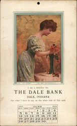 Woman Arranging Flowers The Dale Bank