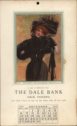 Woman in Black November The Dale Bank