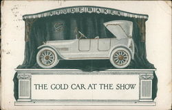 Studebaker - The Gold Car at the Show