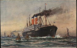 "Twin Screw Steamship ""America"""