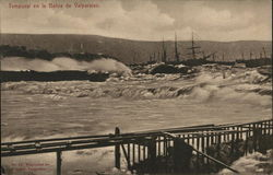 Rough Seas at Valparaiso Bay