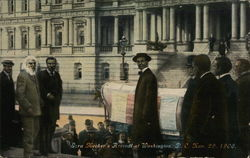 Ezra Meeker's arrival at Washington, DC, Nov. 29, 1906