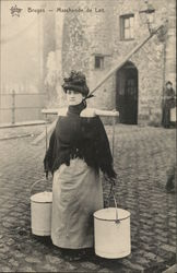 Woman Milk Merchant - Bruges