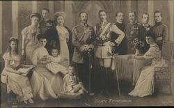 Royal Family Posed for a Portrait