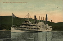 "SS ""Mary Powell,"" Hudson River, NY"