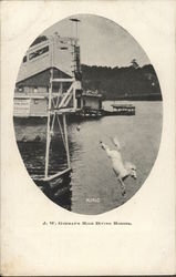 J.W. Gorman's High Diving Horses - King