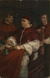 Three Cardinals in Religious Garb, Seated