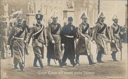 Kaiser Wilhelm II and his Sons