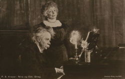 Nina and Edvard Grieg, Composer and Wife