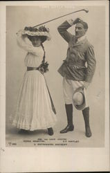A distressing Accident - Ada and Lord Cheyne. Madge Crighton and G.P. Huntley