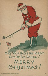 May Your Balls Be Kept Out of the Rough! Merry Christmas!
