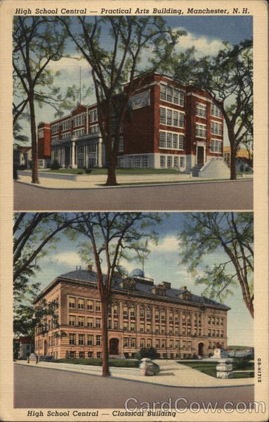 High School Central Manchester New Hampshire