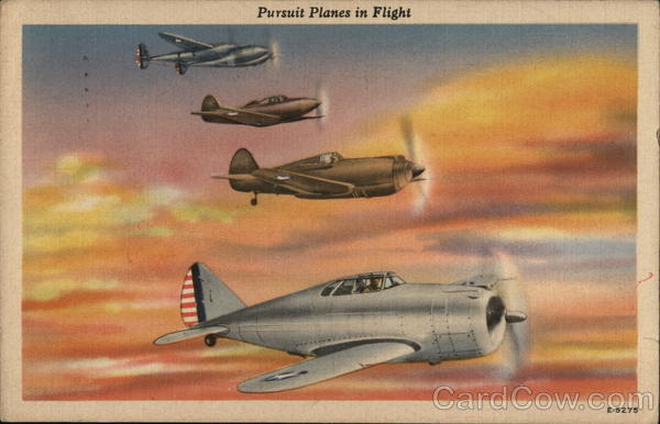 Pursuit Planes in Flight Aircraft