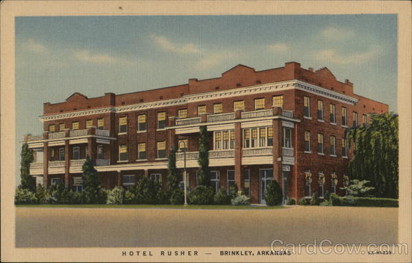 Hotel Rusher Brinkley Arkansas