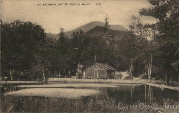Mr. Katahdin, Loftiest Peak in Maine