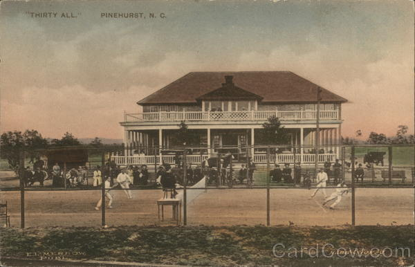 Thirty All Pinehurst North Carolina Tennis