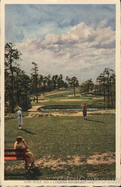 14th Hole, No. 3 Course Pinehurst North Carolina Golf