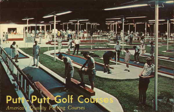 Put Putt Golf Courses Farmingdale New York