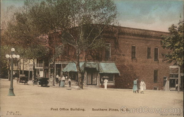 Post Office Building Southern Pines North Carolina
