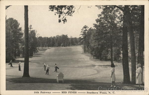 15th Fairway - Mid Pines Southern Pines North Carolina