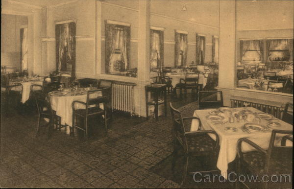 A Part of the Dining Room The Carolina Inn Summerville South Carolina