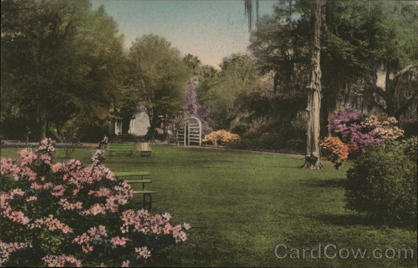 A Part of the Gardens, The Carolina Inn Summerville South Carolina