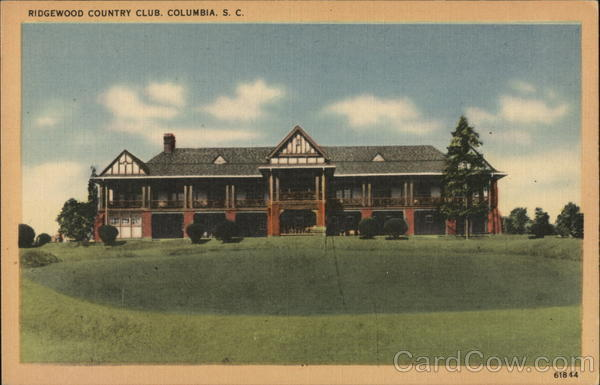 Ridgewood Country Club Columbia South Carolina Golf