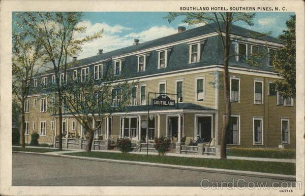 Southland Hotel Southern Pines North Carolina Golf