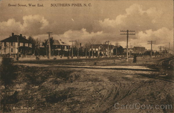 Broad Street, West End Southern Pines North Carolina
