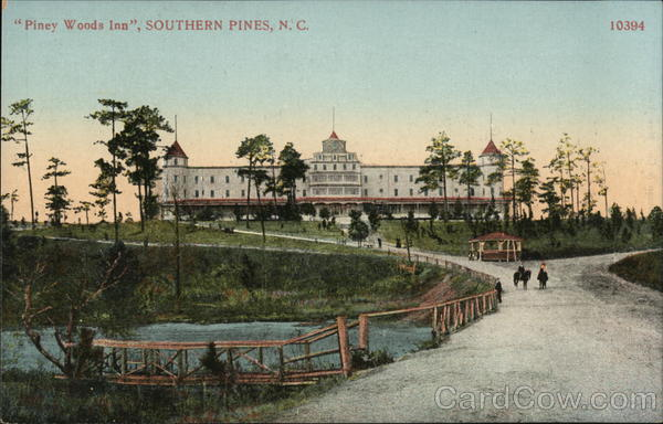 Piney Woods Inn Southern Pines North Carolina Golf