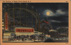 The Cyclone at Night