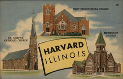 Harvard Illinois Churches